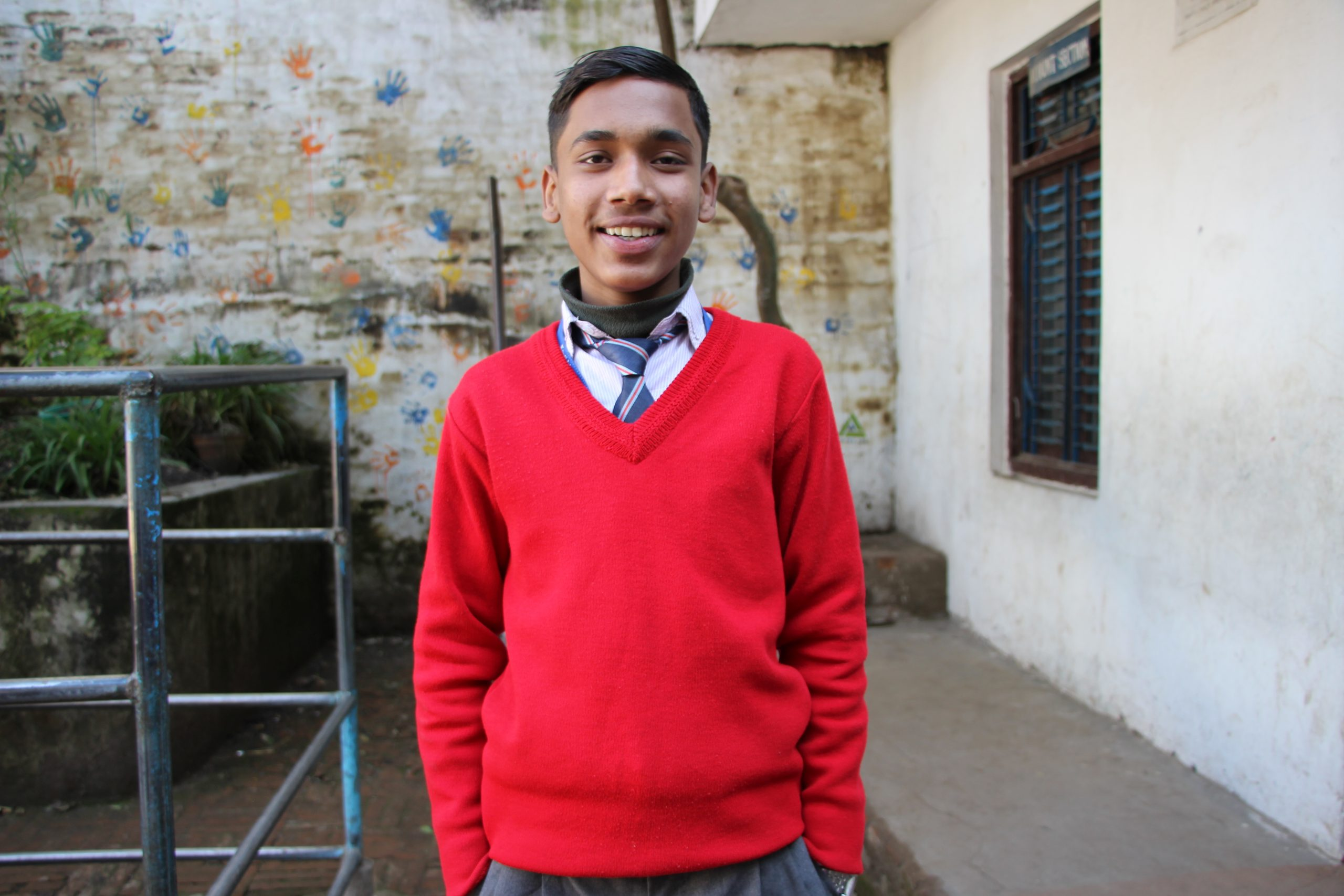 Dipershan Nepali, Canopy Nepal Excellence Scholar-CANSHIP